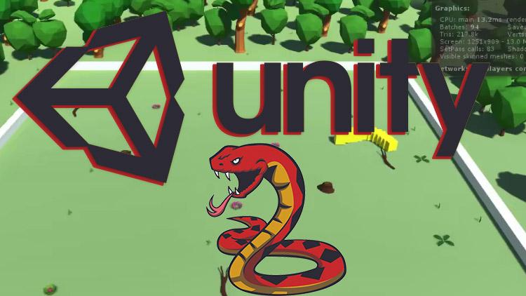 Создание змейки в Unity